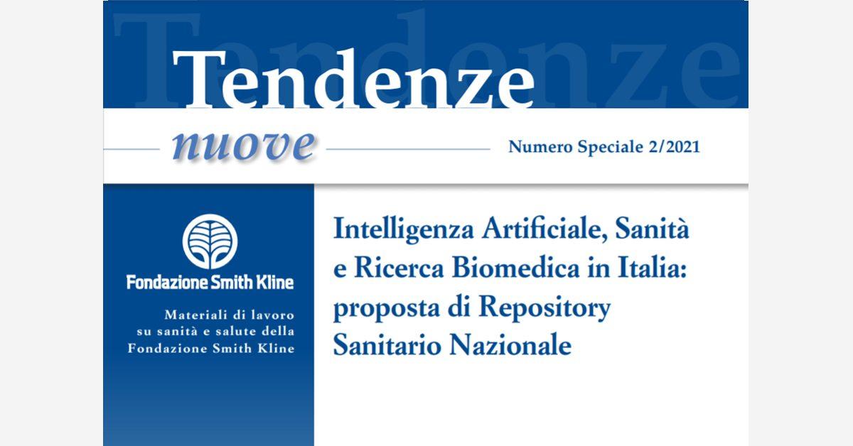 Repository Sanitario Nazionale per intelligenza artificiale, Sanità e ricerca biomedica in Italia